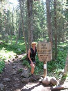 Entering Holy Cross Wilderness