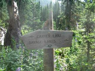 We'll need to check out Carter Lake in the future